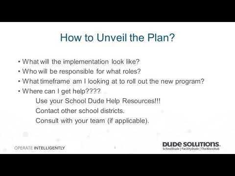 Creating a Facility Use Program Webinar