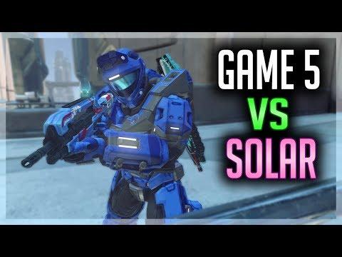 Game 5 vs Solar - Halo 5 Warzone