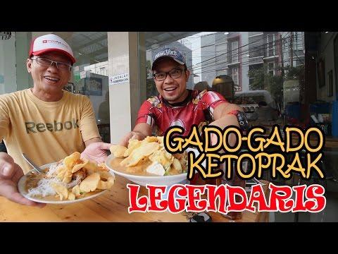 Enak Banget Kuliner Legendaris Ketoprak Dan Gado-Gado Cemara Sejak 1947 - Kuliner Indonesia