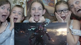 ENDGAME TRAILER REACTION