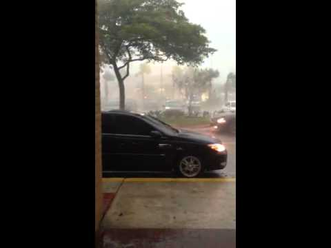 First Coral Springs tornado ever!!!