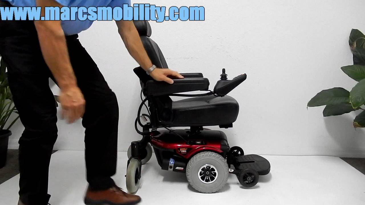 pride mobility jazzy 1103 ultra seat lift by marc s mobility [ 1280 x 720 Pixel ]