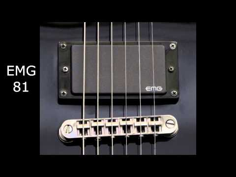 EMG 81 vs EMG 85 vs EMG 60 - Bridge Position