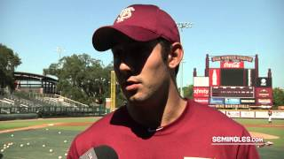 FSU Baseball Enjoying 2012 Fall Practice