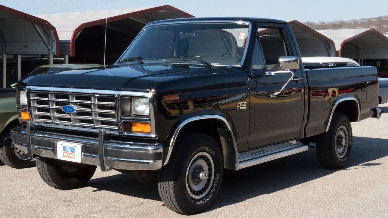 1985 Ford F 150 Xl 4x4 W 12k Miles Full Tour Start Up