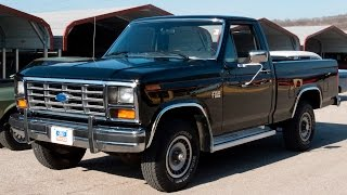 Video 1985 Ford F-150 XL 4x4 w/12k miles | Full Tour, Start Up, and Test Drive download MP3, 3GP, MP4, WEBM, AVI, FLV September 2018
