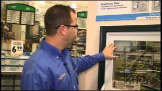 Insulating the exterior windows of your home with Menards