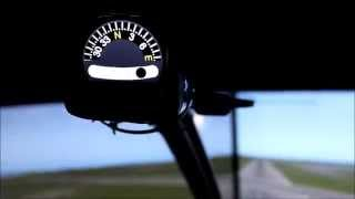 Flight Simulator Compass and Slip Indicator