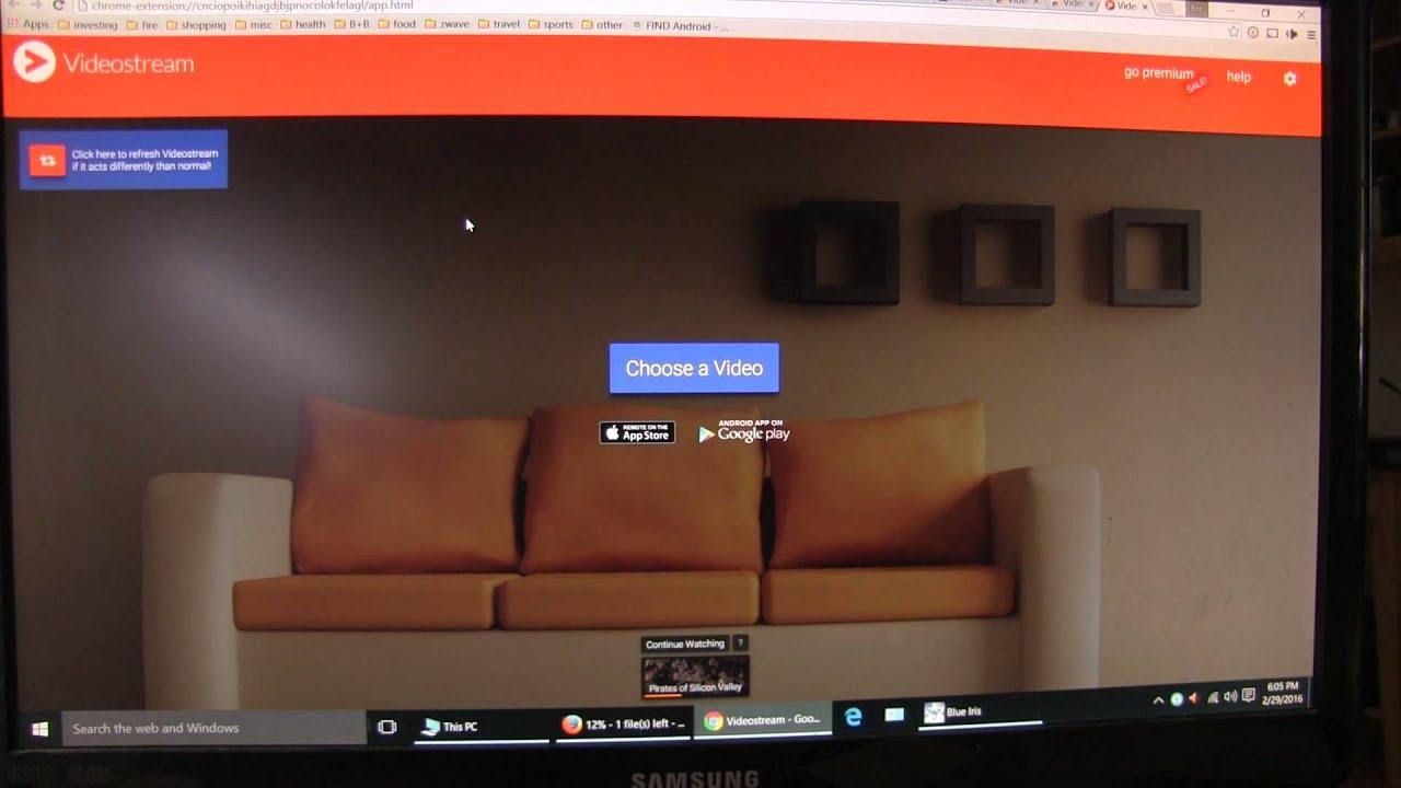 Video Stream Chromecast