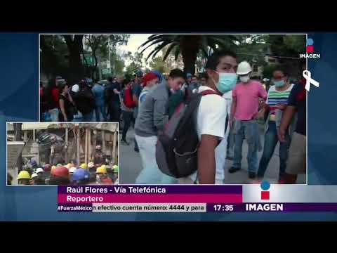 Descartan la caída del Plaza Condesa | Noticias con Yuriria Sierra