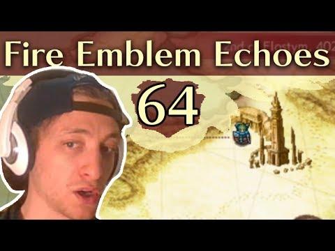 ACT 6. Fire Emblem Echoes: Shadows of Valentia (Hard/Classic) Gameplay Walkthrough Part 64