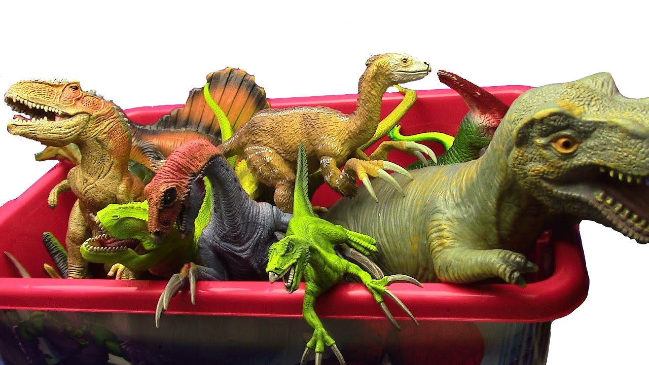 Dinosaurs Toys R Us : Dinosaurs box what s in the jurassic world