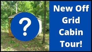 Off Grid Cabin Tour - Derksen 12x24 Portable Building