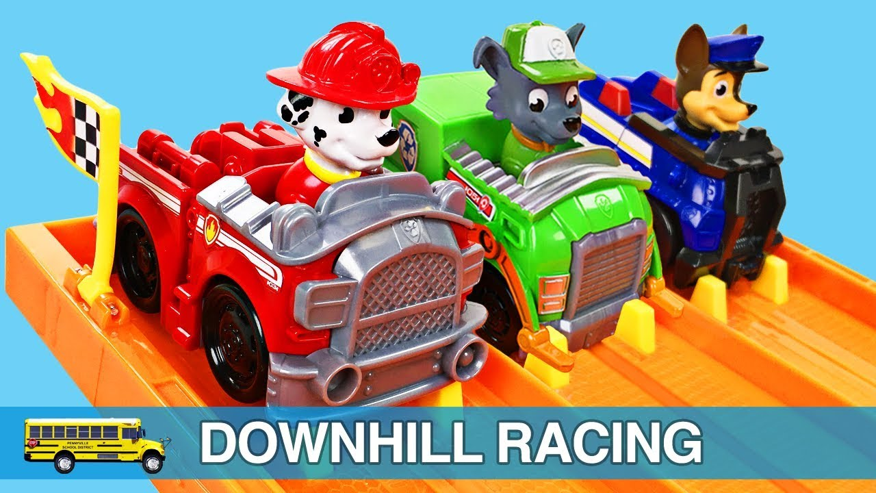Learning Cars Racing Toddler Video