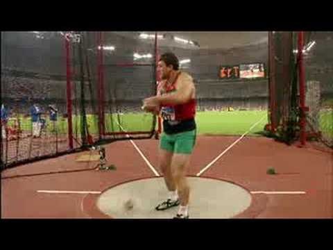 Athletics – Men's Hammer Throw Final – Beijing 2008 Summer Olympic Games