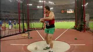 Athletics - Men's Hammer Throw Final - Beijing 2008 Summer Olympic Games
