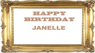 Janelle   Birthday Postcards & Postales - Happy Birthday