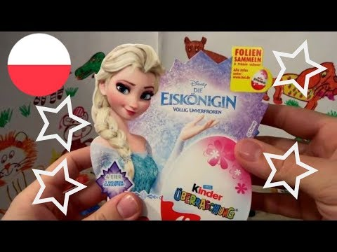 Видео, DISNEY FROZEN Anna and Elsa Princess of Arendelle 20 Kinder Surprise Eggs