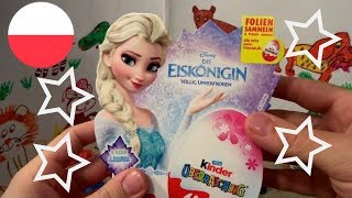 Disney Frozen 20 Anna and Elsa Princess of Arendelle Kinder Surprise Eggs thumbnail