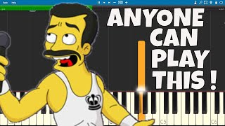 How To Play Bohemian Rhapsody - EASY Piano Tutorial - FULL Song  - Queen