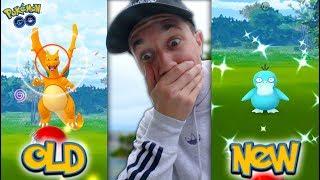 OLD vs. NEW Pokémon GO!