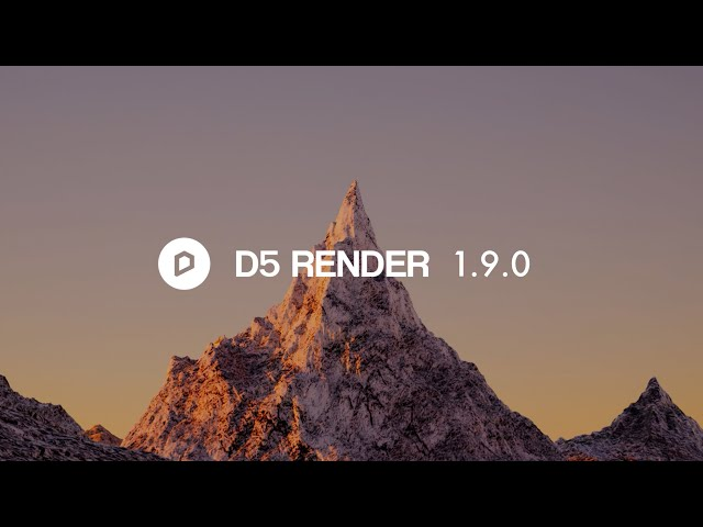 D5 Render 1.9.0 NOW Available|Geo&Sky System, Water Material and Emissive Effect Optimization...
