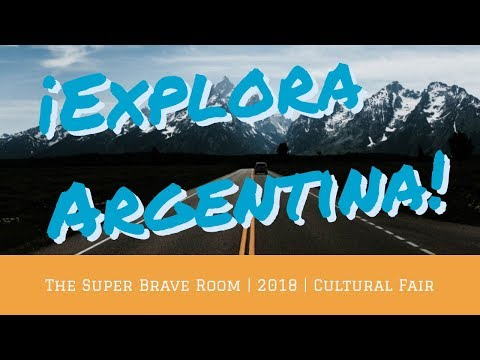 EXPLORA ARGENTINA | Mini-traíler | The Super Brave Room | Cultural Fair