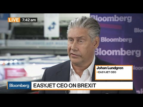 EasyJet CEO Lundgren on Brexit, Pound, Airlines Demand, Climate Impact