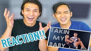 REACTING TO MY BROTHERS NEW SONG!! (LAUREX)