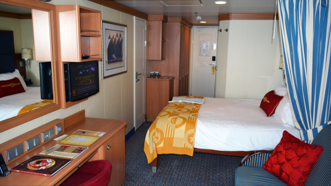 Disney Cruise Line Stateroom 9566 Room Tour On The Dream