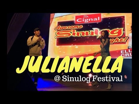 Julian Trono & Ella Cruz @ Sinulog Festival in Cebu City