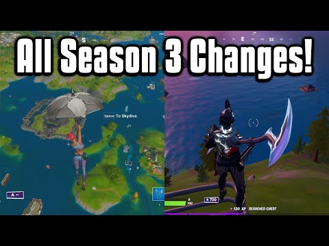 Everything New In Fortnite Chapter 2 Season 3! - Battle Pass, Map, Weapons, & More!