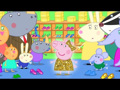 Peppa Pig Official Channel | Stories At The Police Station - Lost Dinosaur