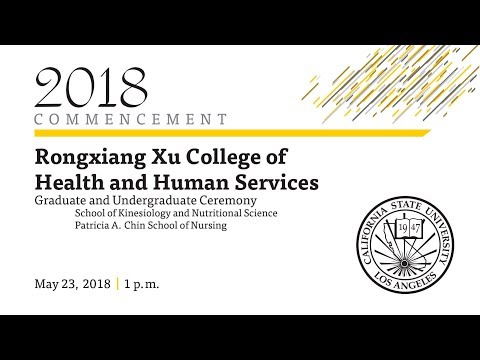 Rongxiang Xu College of Health and Human Services Graduate and Undergraduate Ceremony