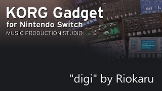 "(Drum'n'Bass) ""digi"" by Riokaru - Korg Gadget for Nintendo Switch"