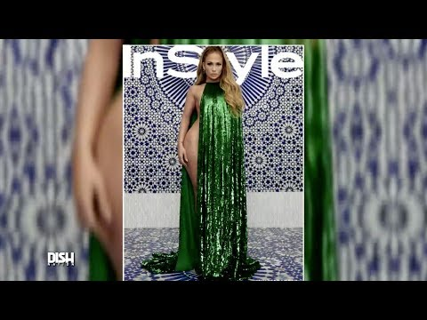 WHAT THA FASHION?!: JLO CHANNELS HER ICONIC GREEN DRESS FOR INSTYLE Mp3