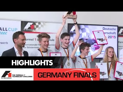 F1 in Schools Germany National Final 2015 - Formula 1 Technology Challenge