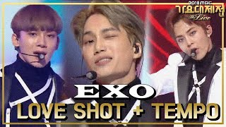 Hot  Exo - Love Shot + Tempo, 엑소 - Love Shot + Tempo