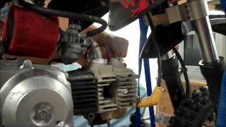 Honda CRF 50 - 88cc Big Bore Kit Install - Part 1 of 4