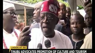 Lagos @ 50 : Tinubu advocates promotion of culture and tourism