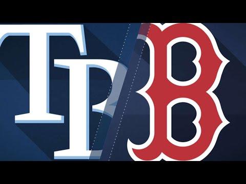 Ramirez walks off Rays in Red Sox home opener - 4/5/18