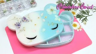 [13+] Miniature Sweet- Kawaii Bear storage/jewelry  box- Resin- Tutorial