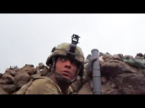 Mortar Crew Picks A Fight With 70+ Taliban