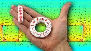 МАГНИТНАЯ СБОРКА ХАЛБАХА для Вечного двигателя на 3D принтере Halbach Array Игорь Белецкий