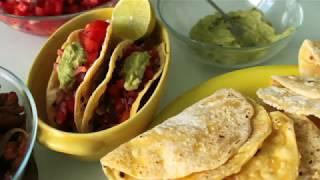 ТАКОС: ЛУЧШИЙ рецепт (в самодельных тартильях)   TACOS recipe   Mexican cuisine  