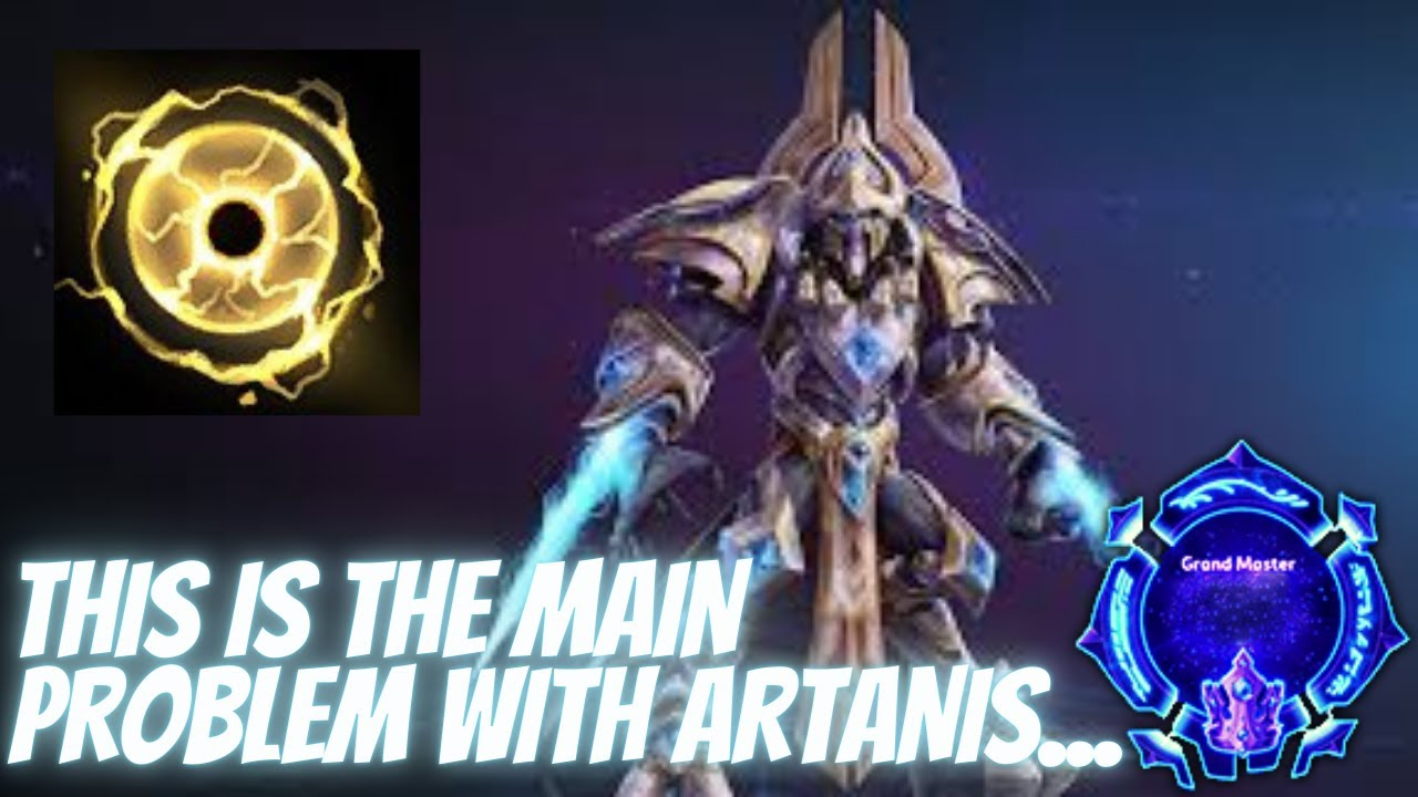 Artanis Suppression Pulse - The Main Problem with Artanis Is This... - Grandmaster Storm League