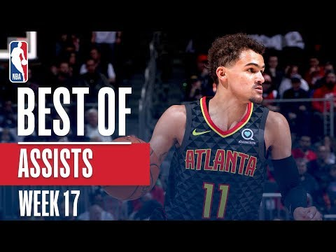 NBA's Best Assists | Week 17 | State Farm