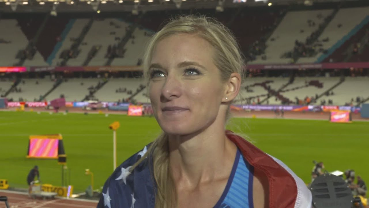 WCH 2017 London – Emma Coburn USA 3000 Metres ...