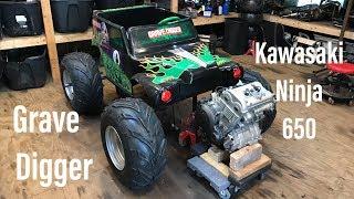 Ninja 650 Powered Power Wheels Build Part 1