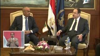 السيد وزير الداخلية يلتقى نظيره الجزائرى بالقاهرة لبحث تعزيز التعاون الأمنى بين الجانبين